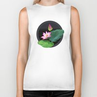 lily Biker Tanks featuring Lily by Linda Wanders