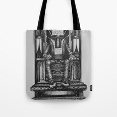 Pax Robota - B&W Tote Bag