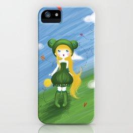 La princesse grenouille au ballon d'or iPhone Case