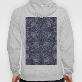 Feathers and bones-the blues Hoody