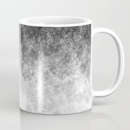 Disappearing Fog - Black and White Gradient Coffee Mug