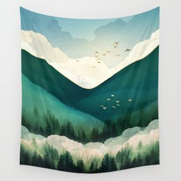Emerald Hills Wall Tapestry