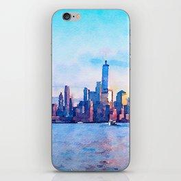 New York 3 iPhone Skin