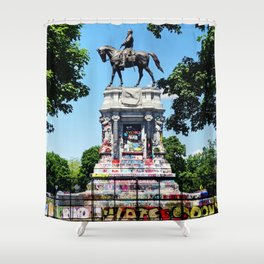 Robert E. Lee Statue Shower Curtain
