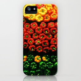 Bell Pepper Display iPhone Case