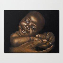 Cradle of Love Canvas Print