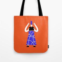 Geometric dancer #1 Tote Bag