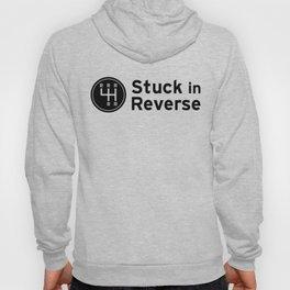 Stuck in Reverse Logo Hoody