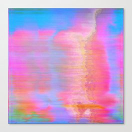 00-36-36 (Face Glitch) Canvas Print