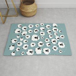 Counting Sheep III: Multiple Sheep Rug
