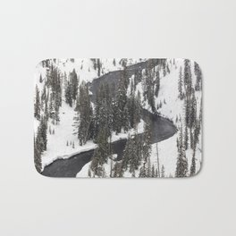 Yellowstone National Park - Lewis River 2 Bath Mat