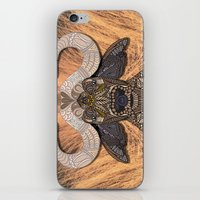 african iPhone & iPod Skins featuring African Buffalo by ArtLovePassion