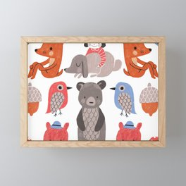 Woodland Framed Mini Art Print