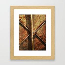 Pátina Framed Art Print