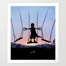 Magneto Kid Art Print