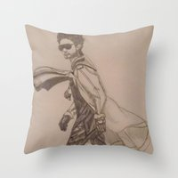 jared leto Throw Pillows featuring Jared Leto. by TheArtOfFaithAsylum
