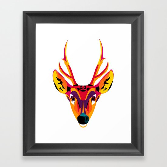 huemul Framed Art Print