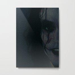 The Crow Screenplay Print Metal Print