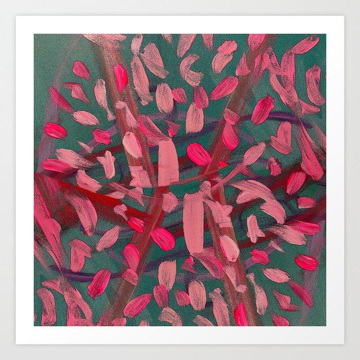 Vivacity in Pink Art Print