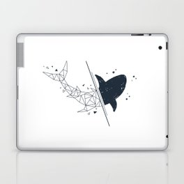 Shark. Geometric style Laptop & iPad Skin