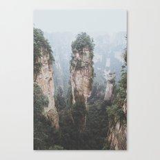 Zhangjiejia National Forest Park Canvas Print