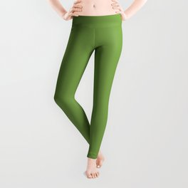 Gifts from the Garden ~ Leaf Green Leggings