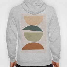 Minimal Abstract Shapes 15 Hoody