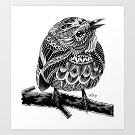 Prairie Warbler Art Print
