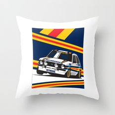 Ford Escort RS2000 Throw Pillow