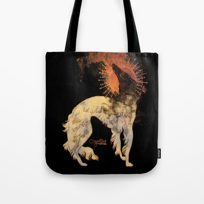 Fiery Beacon Tote Bag