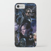 terminator iPhone & iPod Cases featuring Terminator Saga by Saint Genesis