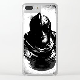 Unnamed Warrior Bust Clear iPhone Case