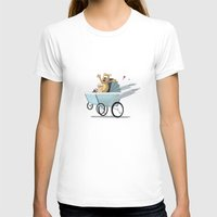 racing T-shirts featuring Racing Baby by Wintoons