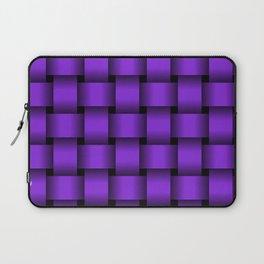 Large Violet Weave Laptop Sleeve