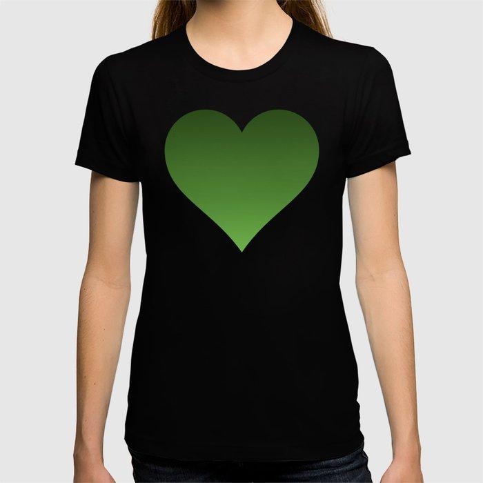 Green Ombré Gradient T-shirt