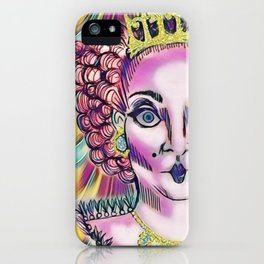 Queen Aggrivated. iPhone Case