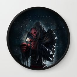 The Death - La Muerte Wall Clock