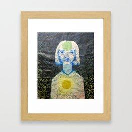 Shakras Framed Art Print