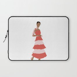 two colored beauty Laptop Sleeve