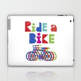 Ride a Bike - Sketchy Laptop & iPad Skin