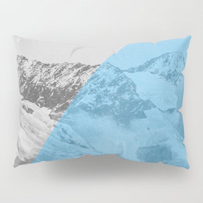 NEON NATURE | Blue Pillow Sham