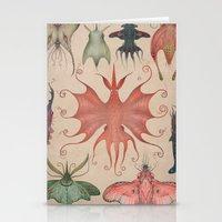 Stationery Cards featuring Cephalopodoptera Tab. V by Vladimir Stankovic