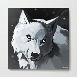 Wolf 4 Metal Print