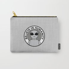 Believe in Humanity Carry-All Pouch