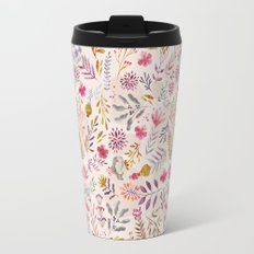 Light floral Travel Mug