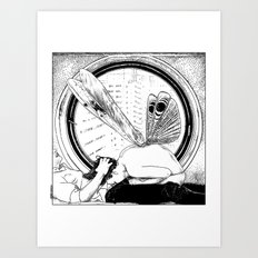 asc 451 - L'amante avide (Hungry mistress) Art Print