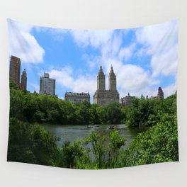 San Remo Towers And The Lake Wall Tapestry