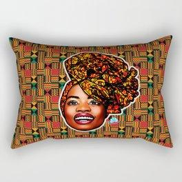 Ashanti Queen Rectangular Pillow