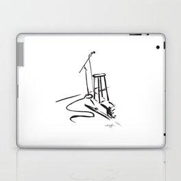 Open Mic by Kathy Morton Stanion Laptop & iPad Skin