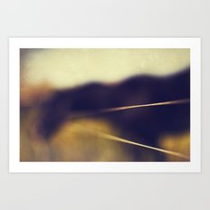 Let us be silent, that we may hear the whispers of the gods. Art Print